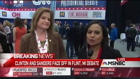FLASHBACK: Next Debate Moderator Caught on Hot Mic Coaching Hillary Coms Director Before Interview