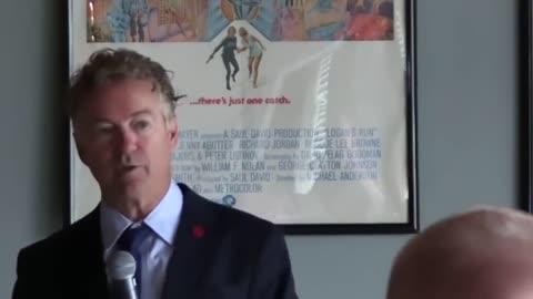 Politics - Rand Paul Speech in Kentucy 5-2021