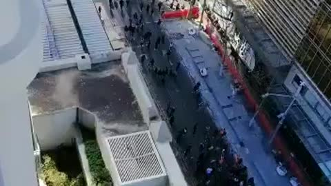 French people protesting against the vaccine passport