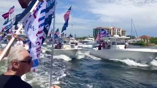Trump Support Flotilla