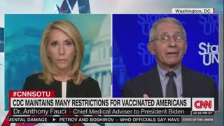 Fauci Says Vaccinated People Should Wear Masks to Stay Safe