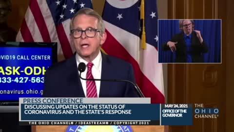 "Ohio Gov Dewine: ""2 Different Ohios - vaxxed and unvaxxed"""