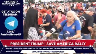 🔴 Patriot News Outlet Live | President Trump | Save America Rally | Cullman, Alabama | 8/21/2021