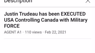 Justin Trudeau executed?