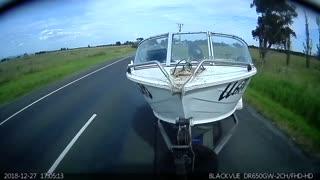 Pothole 1, Boat 0