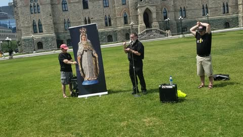 Opportunity for Evangelization with Freedom Loving Canadians