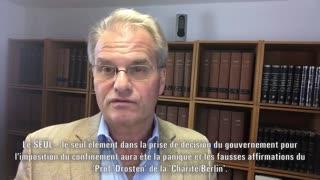"""""""MONEY TALKS IV""""-Dr. Reiner Fuellmich 'Schadenersatzklage' (Auftragsarbeit Untertitel frz. Sprache)."""