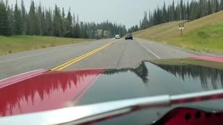 Cruising through Teton Pass