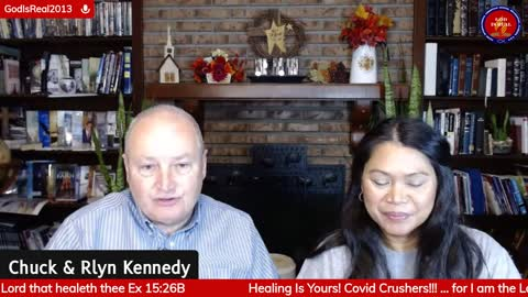 Healing Is Yours! #Crushingcovid - Pastor Chuck & Rlyn Kennedy