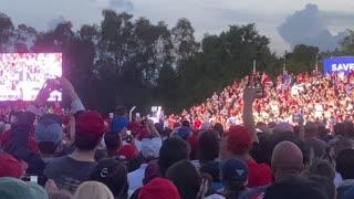 "Trump Rally Sarasota President Trump ""This Crowd is BIG"""