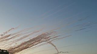 Massive Hamas Rocket Attack on Israel