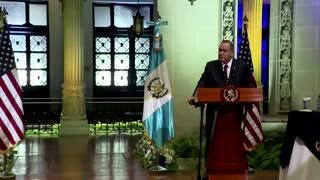 Harris in Guatemala tells migrants 'Do not come'