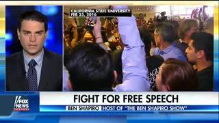Ben Shapiro on college campus free speech