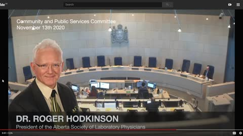 Dr Roger Hodkinson Alberta Canada. This video got my channel banned on YouTube