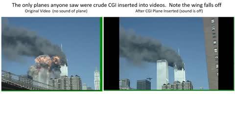9/11 Original Tape vs TV Version