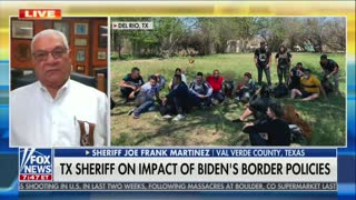 Texas Sheriff On Migrant Border Crossings