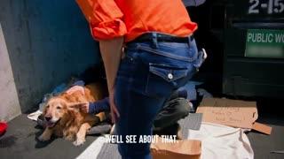 # Homeless Man Gets His DOG TAKEN Away, What Happens Next Is Shocking