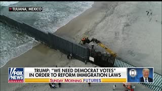 "Trump on Border Crossings: ""It's Like Disneyland."