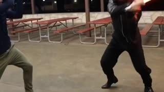 Basic Lightsaber Choreography