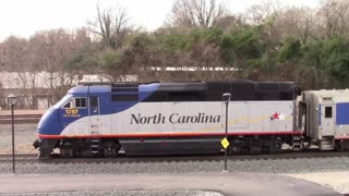 HD: Piedmont #75 departing Raleigh Union Station