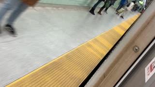 Surprised by Windowless Subway