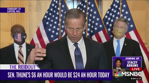 MSNBC Goes Full Racist Mode to Attack Sen. Tim Scott
