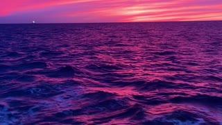 Breathtaking Sunset Captured Off the Coast of Oregon