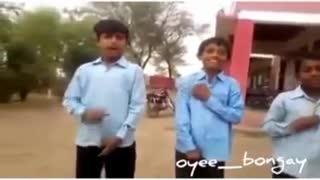 A beautiful village student video