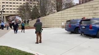 Michigan Republican Electors denied Entrance to Capitol Building