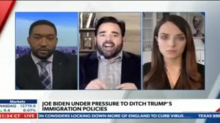 On Newsmax: Immigration Policy Of A Biden Administration and Election Confidence
