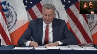 NYC Mayor Tells Cuomo To Resign!