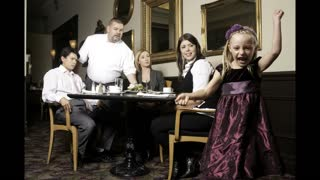 Jiggy and Johnny Talk: Restaurants- Parents and their Children