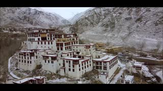Monastery in Mountains