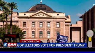 GOP electors vote for President Trump