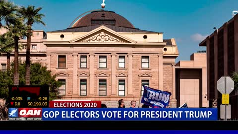 GOP electors vote for President Trump
