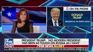 Trump to Judge Jeanine: I may release details of my Putin conversations