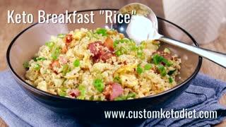 Keto Breakfast Rice, Keto Diet