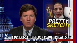Tucker- Hunter Biden's art sales seem 'flagrantly corrupt'