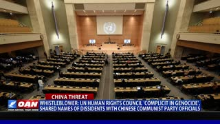 Whistleblower: UN Human Rights Council 'complicit in genocide'
