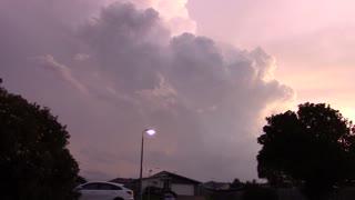 Wild Lightning Storm