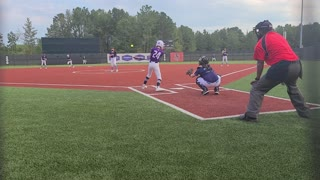 Zoe Line drive up middle