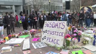 Protesters in Louisville mark one year since Breonna Taylor's killing by police