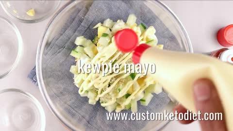 Keto Japanese Egg Salad 2
