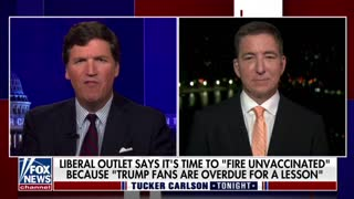Glenn Greenwald discusses pushback against unvaccinated people