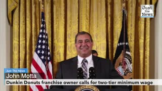 Dunkin Donuts franchise owner calls for two-tier minimum wage