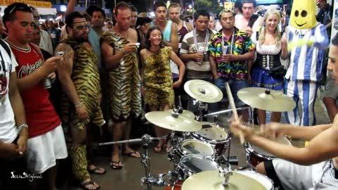 Amazing Street Drumming