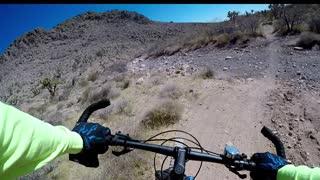 Fun Mountain Biking Blue Diamond Nevada