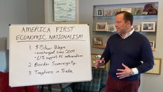 Steve Cortes on America First Economic Nationalism