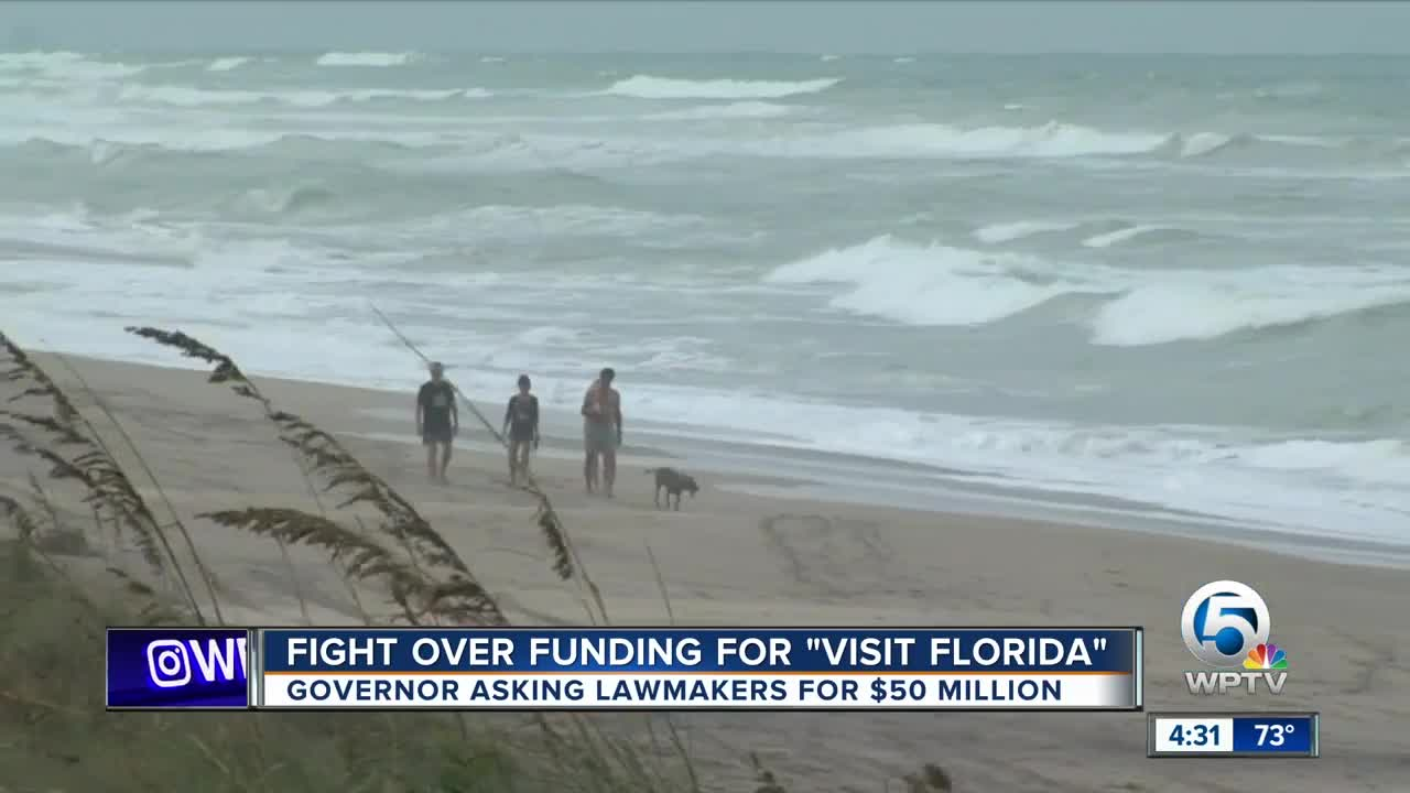 Fight over funding for 'visit Florida'