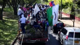 Video: indígenas colombianos piden diálogo con el Gobierno